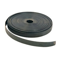 1 X Heavy Duty Rubber Black Tree Tie Strapping Strong Tree Support 2.5CM X 25M