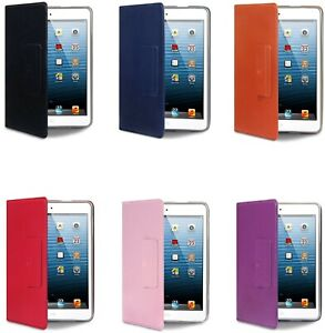 Luxury Protective Stand PU Leather Folio Case Cover for Apple iPad Mini 1st Gen