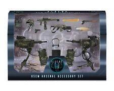 NECA Aliens USCM arsenal de armas paquete de lujo de accesorios Marines INSTOCK Libre P&P