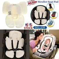 Infant Baby Car Seat Stroller Cushion Pad Liner Mat Head Body Support Pillow
