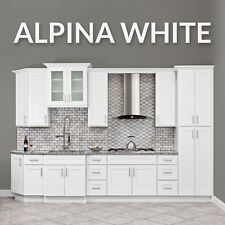 10x10 ALL WOOD White Kitchen Cabinets Fully Upgraded Group Sale