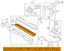 PORSCHE OEM 10-15 Panamera Engine-Air Cleaner Filter Element 97011022001
