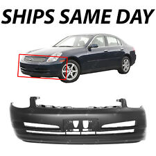 NEW Primered - Front Bumper Cover Replacement for 2003 2004 Infiniti G35 Sedan