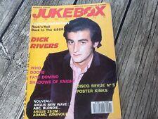 Jukebox magazine n° 33 Mai 1989 TBE avec fascicule .