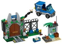 LEGO JURASSIC WORLD T-REX BREAKOUT PARK GATE BUILDS ONLY 10758 - NO MINIFIGURES