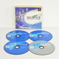 PS1 FINAL FANTASY VII 7 International PSone Books No Inst ccn Playstation p1