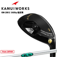 Kamui Works Golf Japan KM-200 II Utility Hybrid Black K's-Hybrid Steel 2021c