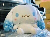 Premium Sanrio Cinnamoroll 50cm Blue Cloud Sky Jumbo Squishy Plush Mochi Japan