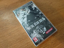 Metal Gear Solid Peacewalker PSP Playstation Portable