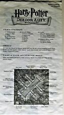 ORIGINAL BOARD GAME INSTRUCTIONS HARRY POTTER DIAGON ALLEY MATTEL © 2001