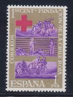 EDIFIL 1534 CENTENARIO CRUZ ROJA AÑO 1963 NUEVO