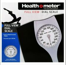 Health O Meter The Doctor's  Traditional Dial Scale Black