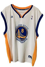 Monta Ellis Golden State Warriors #8 Adidas White NBA Jersey XXL (2XL)