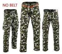 MENS CAMO CARGO TROUSERS MOTORBIKE / MOTORCYCLE / MOTOCROSS WITH 6 POCKETS