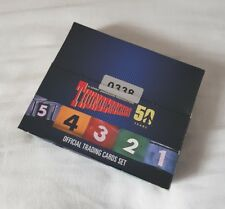 Unstoppable Cards Thunderbirds 50th Anniversary Factory Sealed Trading Card Box