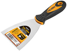 """Heavy Duty 2"""" Scraper Paint Wallpaper Decorate Fill Stainless Steel 4 pieces"""
