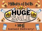 Bells, Nook Miles Tickets, Fish Bait, Materials, Furniture, Recipes ⭐Online Now⭐