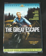 New The Great Escape (Dvd, 1963, Box Set, Collectors Edition) Steve McQueen Wwii
