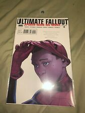 Ultimate Fallout #4 2nd Print, 1st Miles Morales unmask, VF/NM Stamp #10