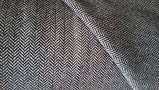 Italian fine herringbone wool tweed fabric,material for coats,suit 150cm wide