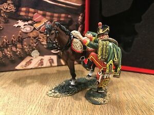 King & Country: Boxed Set NA304 - French Hussar Mounting Horse. Retired