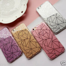Diamand Strass Housse Etui Coque iPhone 4 5 SE 6 7 Plus Bling Souple luxe Cover