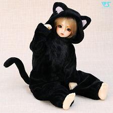 Volks Doll Party 33 Super Dollfie Mini Fluffy Black Cat pajamas MSD SDC SDM MDD