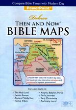 DELUXE THEN AND NOW BIBLE MAPS POWERPOINT PRESENTATION CD by Rose Publishing