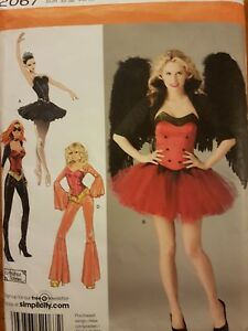SIMPLICITY SEWING PATTERN 2067 6-12  ballet angel character COSTUME  uncut