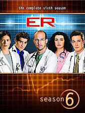 E.R Complete Sixth Season 6 Series 6 ER E R.....