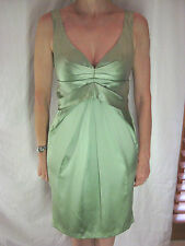 Size XS 6 8 Collette Dinnigan pale green silk cocktail evening dress