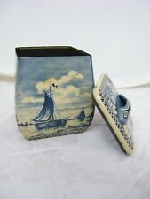 Beautiful VINTAGE West Germany Delf Windmill Humador
