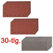 Schleifpapier Set Schleifblätter Schwingschleifer BOSCH PSS 28 AE 280 AE 300 AE