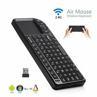 2.4G Wireless Remote Keyboard Mouse For PC IPTV Smart TV and Android TV Box