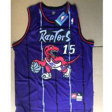 Vince Carter Vintage Toronto Raptors basketball Purple Jersey men's Size:M L XL