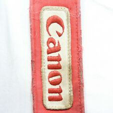 ROACHED OUT! Vintage Canon FD Red, Black Camera Strap Neck Strap (S0764-BC)