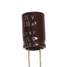 2pc Electrolytic Capacitor Snap in Can HP 15000uF 35V 105℃ 2000hrs φ30x45mm SC