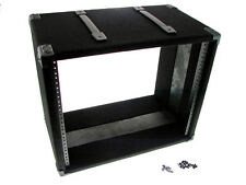 """Procraft 9U 12"""" Deep Equipment Rack 9 Space - Made in the USA - With Rack Screws"""
