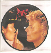 """DAVID BOWIE """"China Girl""""  2 Track 7 Inch Picture VINYL"""