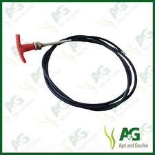 UNIVERSAL ENGINE CHOKE STOP CABLE WITH T HANDLE