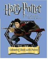 HARRY POTTER AND THE PRIZONER OF AZKABAN COLOURING BOOK WITH PAINTS __ FREEPOST