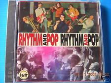 CD RHYTHM AND POP MAURIZIO MASLA MIKE DI LEO GROUP I NORMANNI MICHELE I WOO DOO