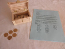 Commemorative State Quarter & Presidential Gold Dollar Collection - Wooden Chest