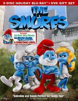 New Sealed The Smurfs / The Smurfs: Christmas Carol Blu-ray Disc + DVD