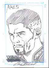 XENA ART AND IMAGES SKETCH CARD BOLSON