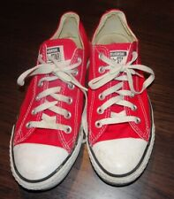 Converse Red All Star Unisex Size 6 M or 8 W in nice shape