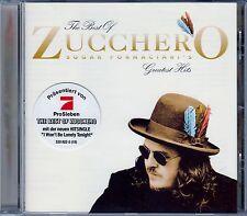 THE BEST OF ZUCCHERO SUGAR FORNACIARI'S - GREATEST HITS / CD - NEU