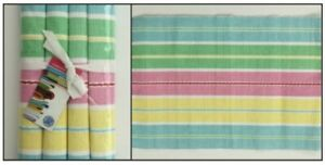 Ribbed Cotton Placemats - Set of 4 from Samuel Lamont
