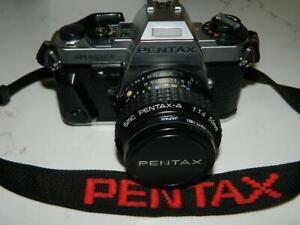 Pentax Super Program 35mm SLR Film Camera w/1:1.4 50mm Lens Pristine/EUC
