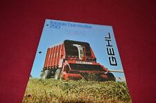 Gehl 750 Forage Harvester Dealers Brochure DCPA
